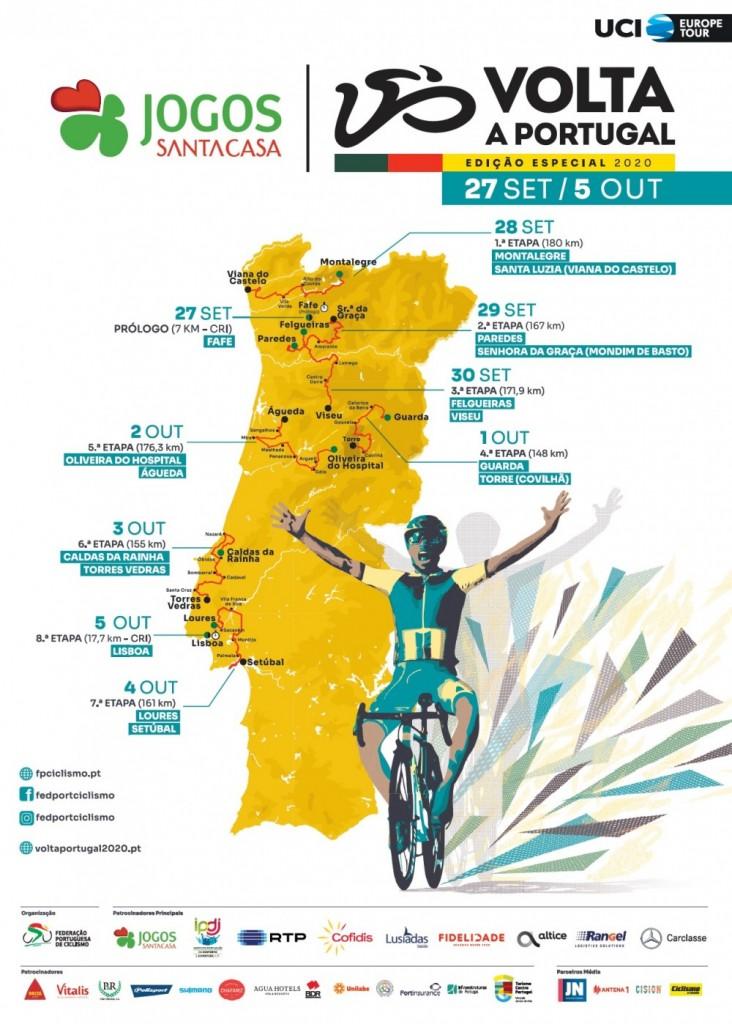 Cartaz Volta a Portugal